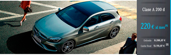 Oferta Mercedes Clase A 200 d con Mercedes-Benz Alternative